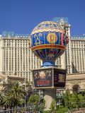 Parijs Las Vegas Stock Foto's