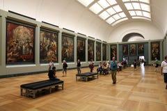 Parijs - Louvre Stock Fotografie