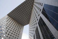 Parijs - moderne architectuur stock afbeeldingen