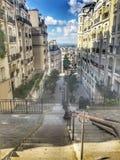 Parijs, Montmartre Royalty-vrije Stock Afbeeldingen