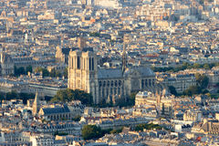 Parijs Notre-Dame Royalty-vrije Stock Afbeeldingen