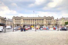 parijs Op de Plaats DE La Concorde Het historische stadscentrum Stock Afbeeldingen