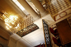 PARIJS: Paleishotel van Crillon Stock Foto