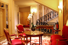 PARIJS: Paleishotel van Crillon Royalty-vrije Stock Fotografie