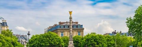 Parijs, plaats du Chatelet royalty-vrije stock foto's