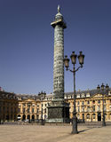 Parijs: Plaats Vendome Stock Afbeelding