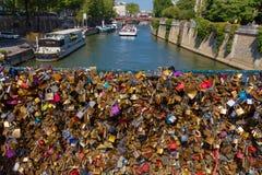 parijs Pont DE l'Archevêché royalty-vrije stock afbeelding