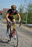 Parijs Roubaix 2011 - Stijn Devolder Stock Afbeeldingen