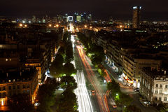 Parijs, stad van lichten Stock Foto's