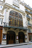 Parijs: Theater DE l'Athenee Stock Foto's