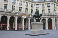 Parijs: Theater Edouard VII Stock Afbeelding