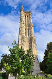 parijs Toren heilige-Jacques Stock Foto