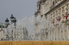 Parijs, townhall Stock Afbeeldingen