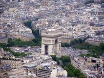 Parijs van de Toren van Eiffel Royalty-vrije Stock Foto
