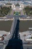 Parijs van de Toren van Eiffel Stock Foto