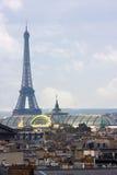 Parijs van hierboven Stock Afbeeldingen