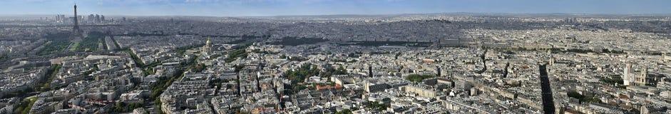 Parijs vanaf de bovenkant Stock Afbeeldingen