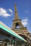 Parijse bus royalty-vrije stock foto's