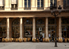 Parijse koffie Stock Afbeeldingen