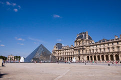 Parijse Piramide stock foto