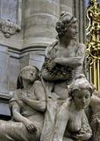 Parijse schoonheid Stock Foto's