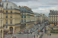 Parijse straat Stock Fotografie