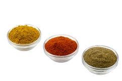 Parika de la pimienta del curry Fotos de archivo libres de regalías