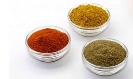 Parika de la pimienta del curry Fotos de archivo