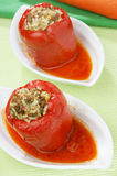 Parika filled with meat Royalty Free Stock Photography