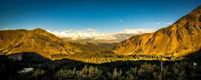Parika Lake, Never Summer Wilderness Area Colorado Stock Image