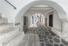 Parikia, Paros, Greece Stock Images