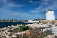 Parikia, Paros, Greece Royalty Free Stock Photo