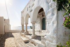 Parikia, Paros island Stock Images