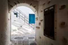 Parikia, Paros island Stock Image