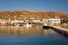 Parikia on Paros island. Stock Photography