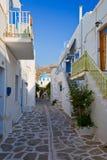 Parikia on Paros island. Royalty Free Stock Photos