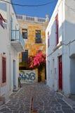 Parikia on Paros island. Royalty Free Stock Photography