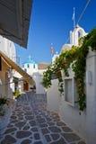 Parikia on Paros island. Royalty Free Stock Image