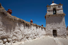 Parinacota Church Stock Photography