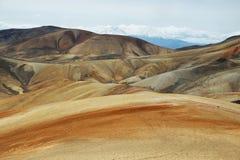 Parinacota and Pomerape viewed from Cerro Milagro Stock Images