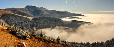 paring mountains Stock Images