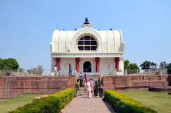 Parinirvana temple in Kushinagar Royalty Free Stock Photo