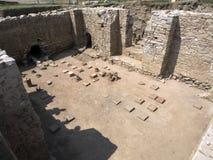 Parioneruïnes van de oude stad royalty-vrije stock afbeeldingen