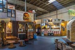 Pariroen-Straßen-Lebensmittelmarkt Lizenzfreie Stockfotografie