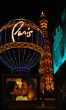 Paris à Las Vegas Images stock