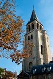 Paris, église de DES Prés de rue Germain photographie stock libre de droits
