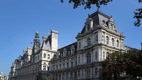 paris городок света стоковое изображение