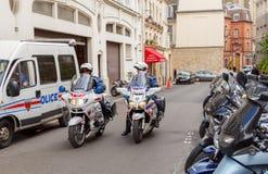 paris полиции Стоковые Фото