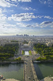 Paris. From eiffel tower, with blue sky Stock Image