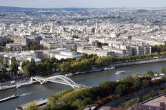 перемет реки paris Стоковое фото RF